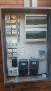 Old Switch Board, all tenancies on communal power